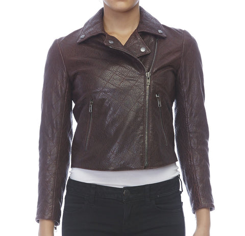 Theory Quilted Leather Jacket