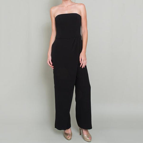 Ralph Lauren Black Label 'Caralyn' Strapless Jumpsuit