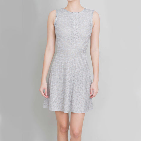 Missoni Silver Knit Dress