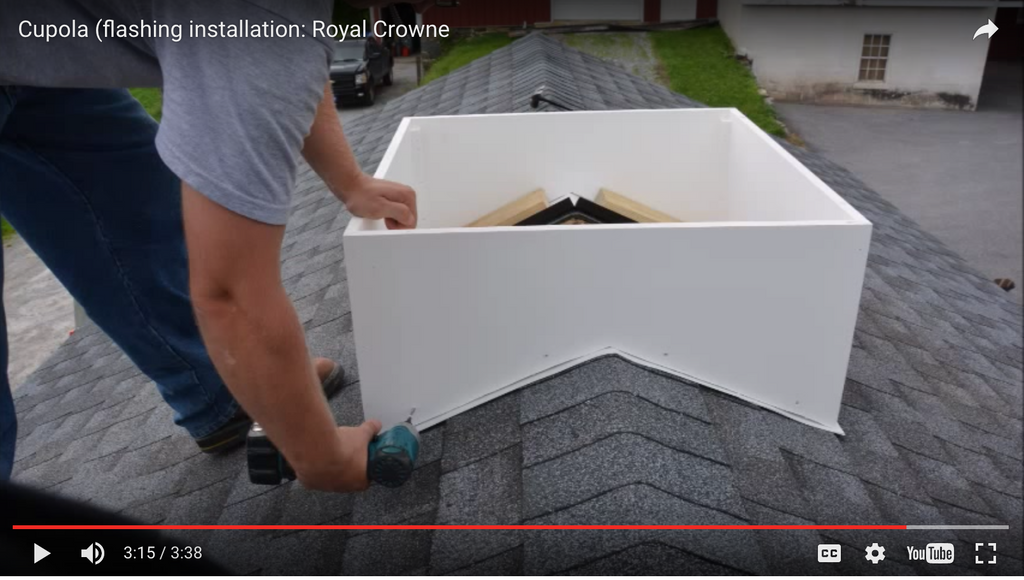How to Install Cupolas Open to the Room Below