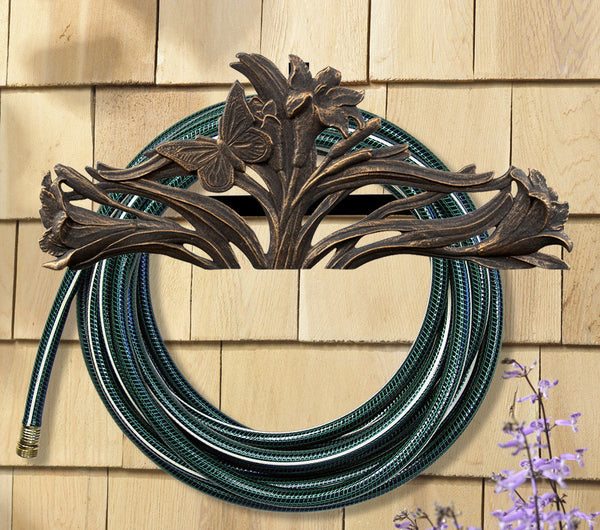 Whitehall Aluminum Butterfly Hose Holder Oil Rubbed Bronze