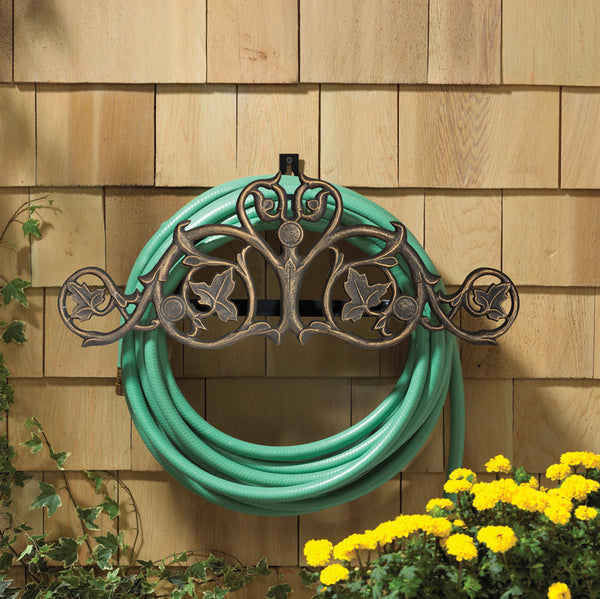 Whitehall Foliate Hose Holder Oil Rubbed Bronze