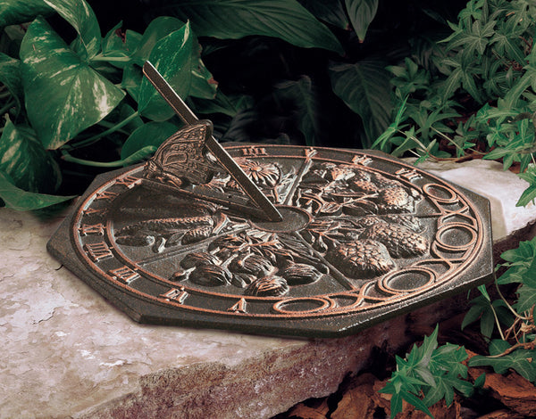 Whitehall Butterfly Sundial Oil Rubbed Bronze