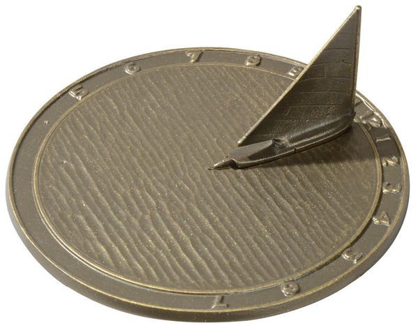 Whitehall Day Sailor Sundial French Bronze