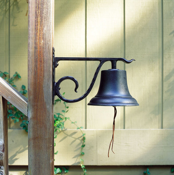 Whitehall Large Country Bell Black