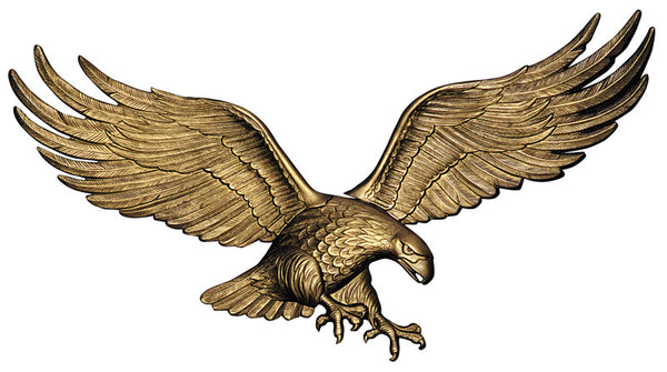 "Whitehall 29"" Wall Eagle Antique Brass"