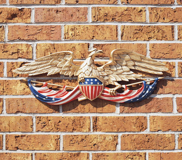 "Whitehall 24"" Patriotic Wall Eagle Color Finish"