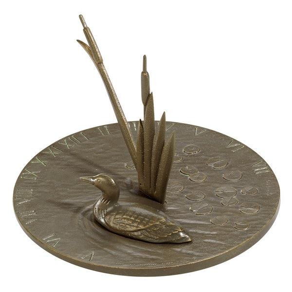 Whitehall Loon Sundial French Bronze