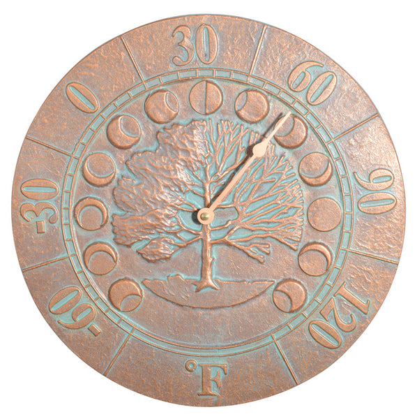Whitehall Times & Seasons Thermometer Copper Verdi