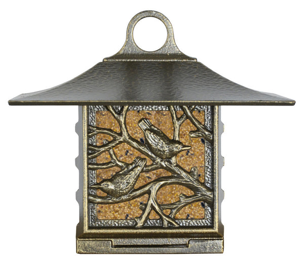 Whitehall Nuthatch Suet Feeder French Bronze