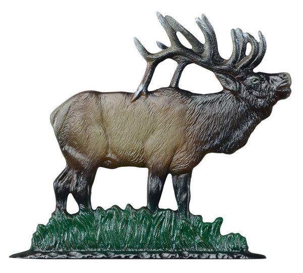 Whitehall 30 Inch Elk Weathervane Rooftop Color
