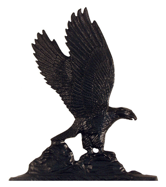 Whitehall 30 Inch Eagle Weathervane Rooftop Black