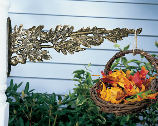 Whitehall Oakleaf Nature Hook French Bronze