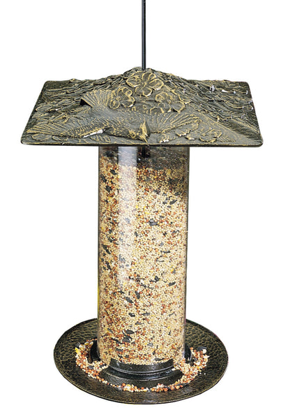"Whitehall 12"" Cardinal Tube Feeder French Bronze"