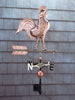 Whitehall Copper Rooster Weathervane Polished
