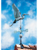 Whitehall Copper Heron Weathervane Verdigris