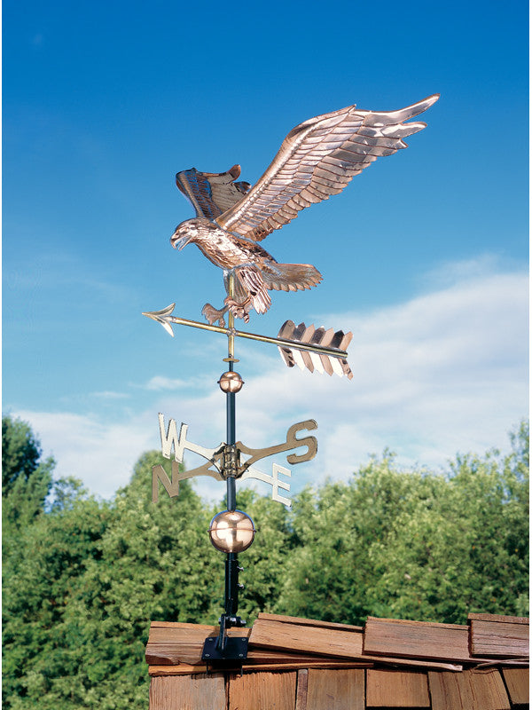 Whitehall Copper Eagle Weathervane Polished