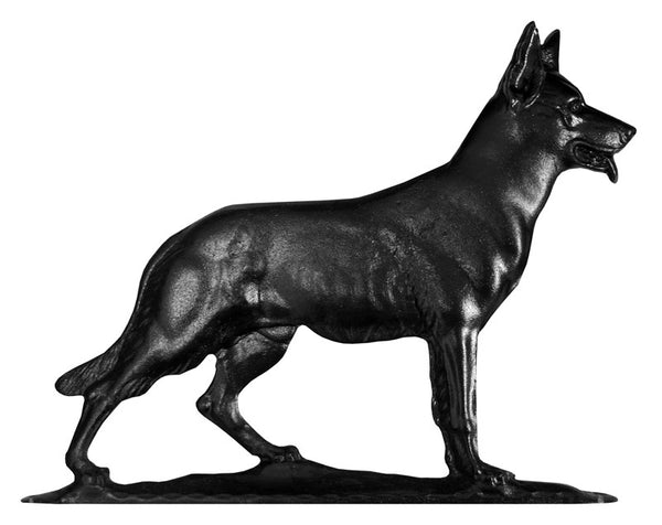 Whitehall German Shepherd Weathervane, Black
