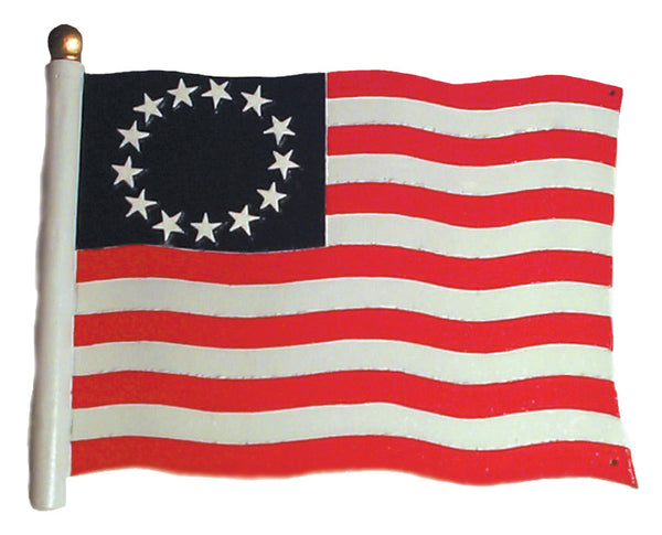 Whitehall Liberty Flag Garden Weathervane, Color