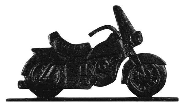 Whitehall 30 Inch Motorcycle Weathervane Rooftop Black