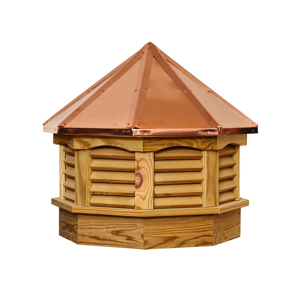 Ridge Craft Gazebo Series Cupola, Pressure Treated, Copper Roof