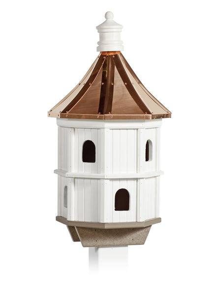 Condo Birdhouse - Copper Roof