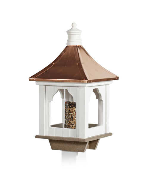 Cupola Birdfeeder - Copper Roof