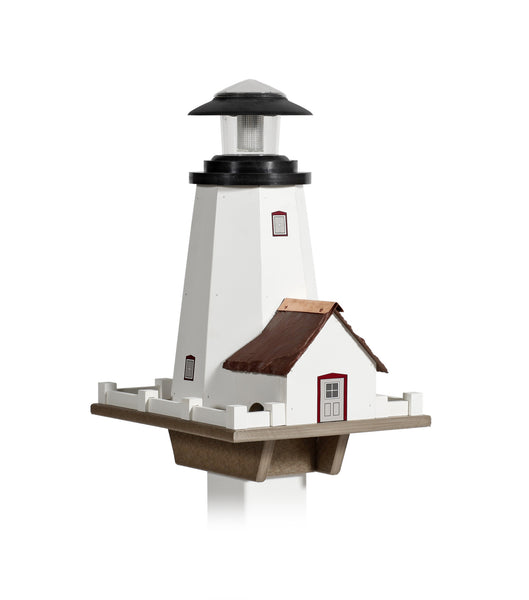 Lighthouse Birdfeeder - Solar Light