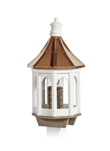 Victorian Birdfeeder - Copper Roof