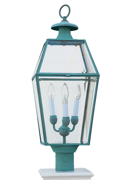 Olde Colony Lantern in Patina