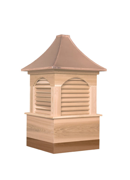 Extended base for cupolas