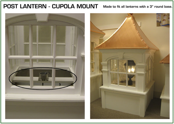 Lantern Mount for Rideg Craft Cupola
