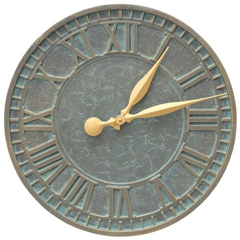Clocks & Thermometers, Geneva Indoor Outdoor Wall Clock