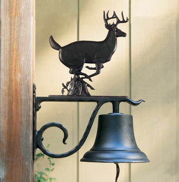 Whitehall Large Bell with Buck - Black Finish