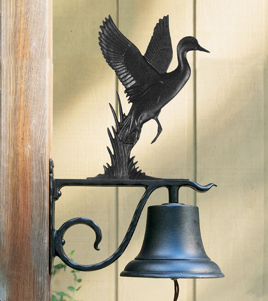 Whitehall Large Bell with Duck - Color Finish