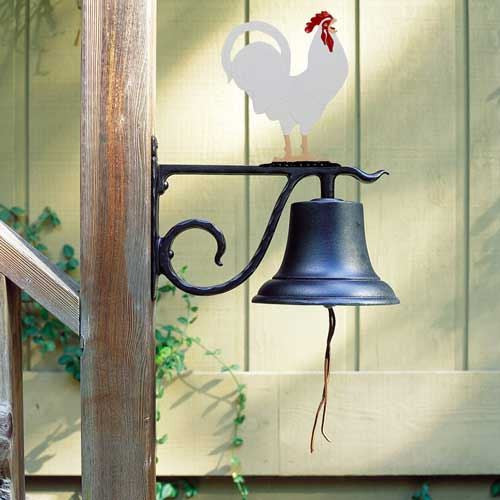 Whitehall LG Bell with Rooster Color