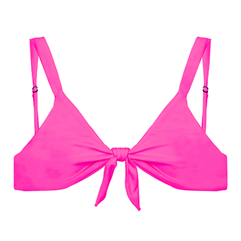 izzy top hot pink product image