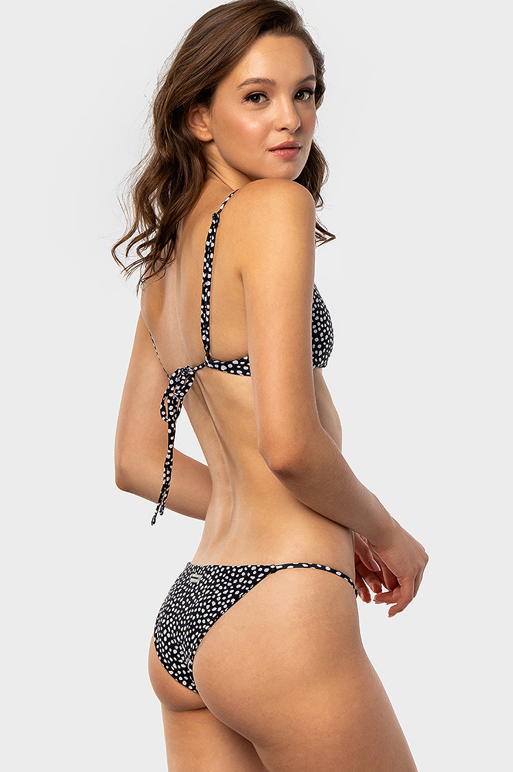 Minimal Bottoms / Black Flint - Bikinis & Beachwear | Blackbough Swim