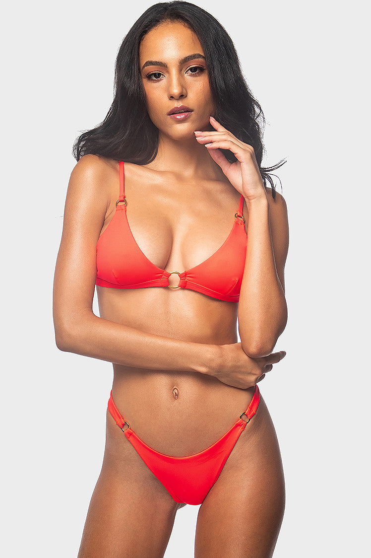 Riri Top / FLAME - Bikinis & Beachwear | Blackbough Swim