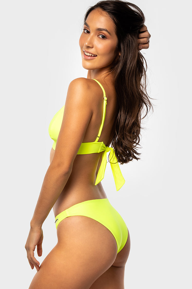 Katie Bottoms / FLUORO YELLOW - Bikinis & Beachwear | Blackbough Swim