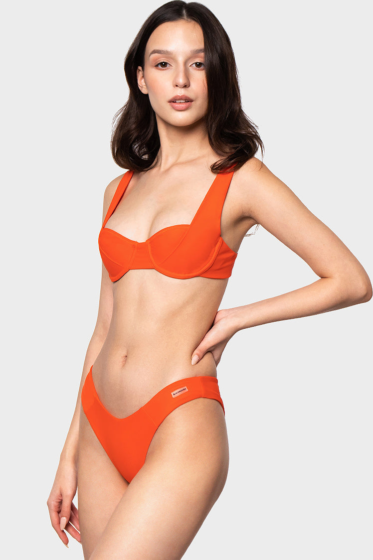 Lucy Top / Hot Sauce - Bikinis & Beachwear | Blackbough Swim