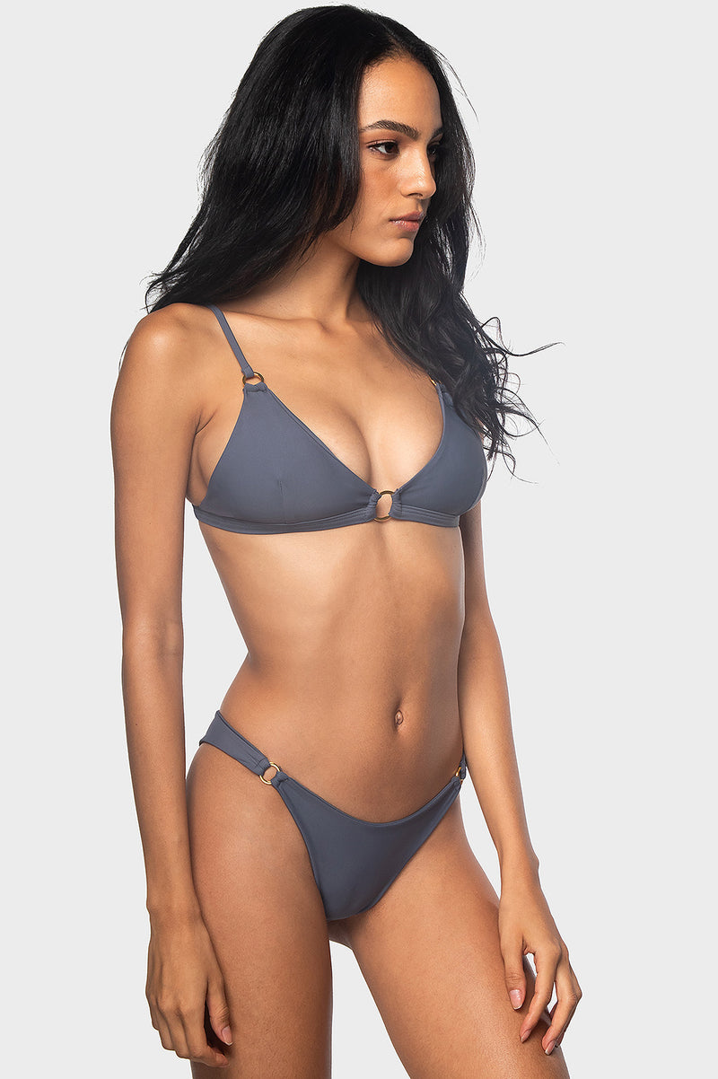 Riri Bottoms / STONE GRAY - Bikinis & Beachwear | Blackbough Swim