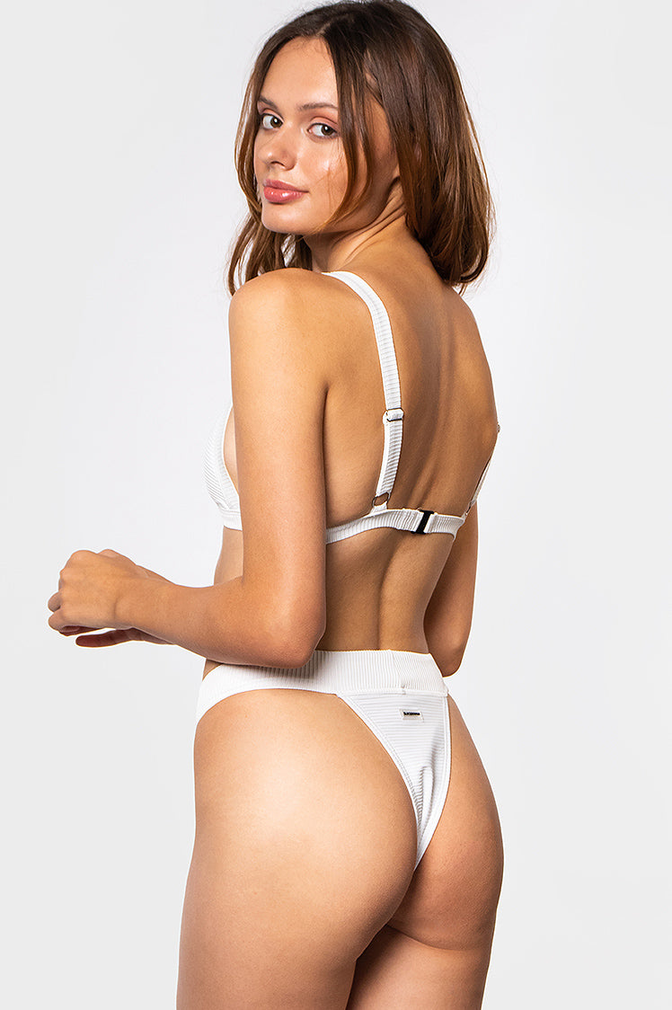 Tanya Bottoms / White Ribbed