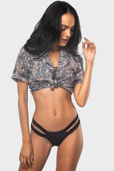 Yumi Crop / WILD THING - Bikinis | Blackbough Swim