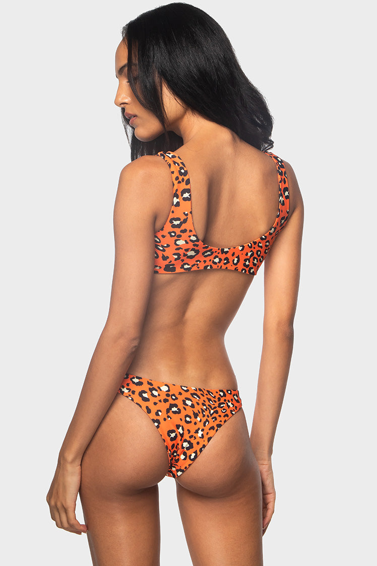 Classic High Bottoms / WILD CAT - Bikinis & Beachwear | Blackbough Swim
