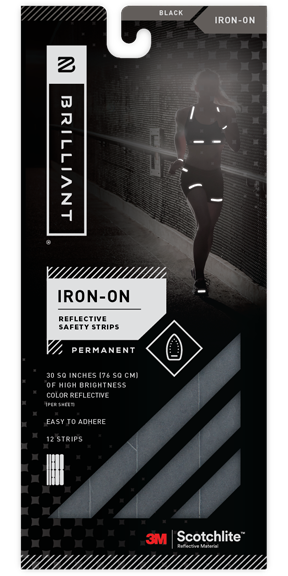 Reflective Iron-on Strips