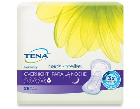 "TENA® OVERNIGHT® SERENITY® 15"" BLADDER CONTROL PADS"