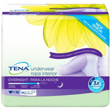 TENA FOR WOMEN OVERNIGHT UNDERWEAR