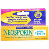Neosporin® Plus Pain Relief First Aid Antibiotic  0.5 oz. Cream Tube