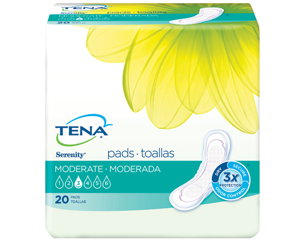 TENA SERENITY BLADDER CONTROL PADS 11 MODERATE